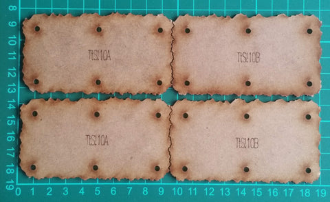 Bat Bases- 10cm grid, deep unit size