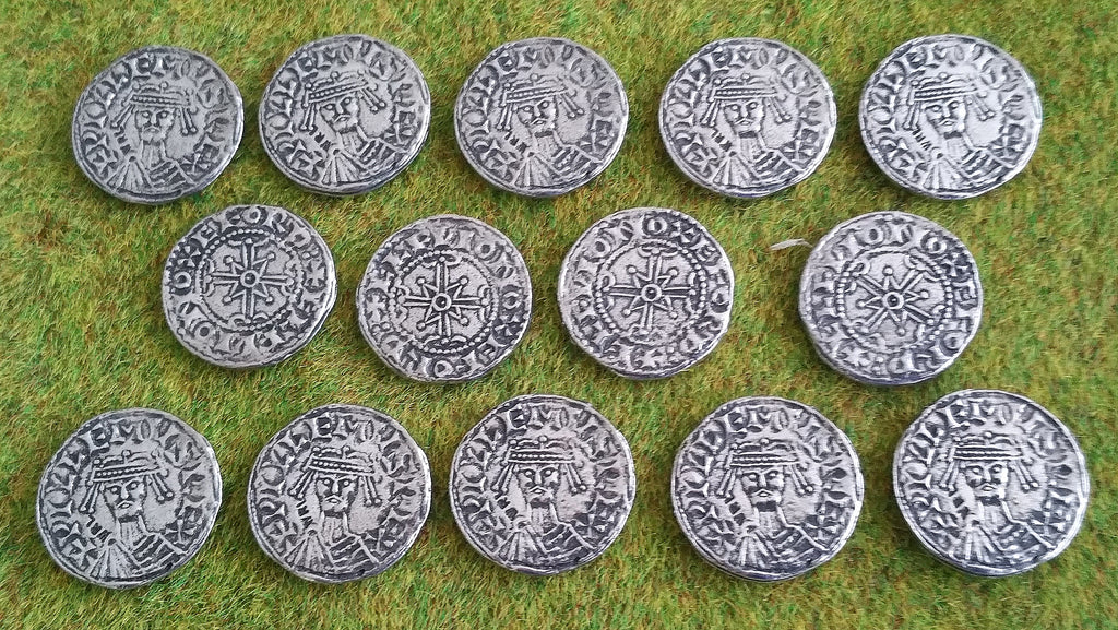 Victory Medals - replica William I silver penny