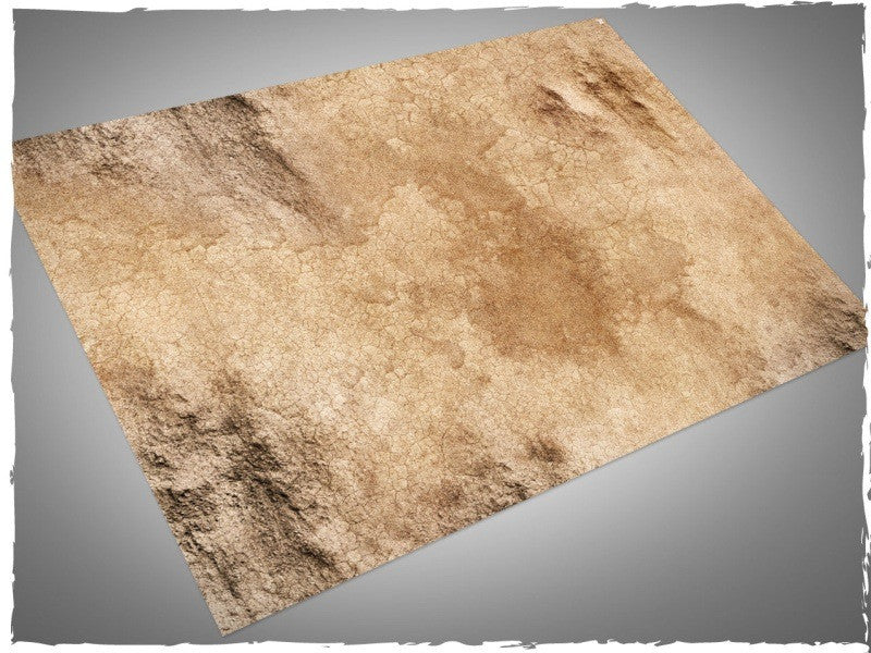 Wasteland design battle mat, 6' x 4' , no grid