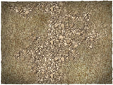 Russian steppe battle mat, 4' x 3', 10cm cross grid