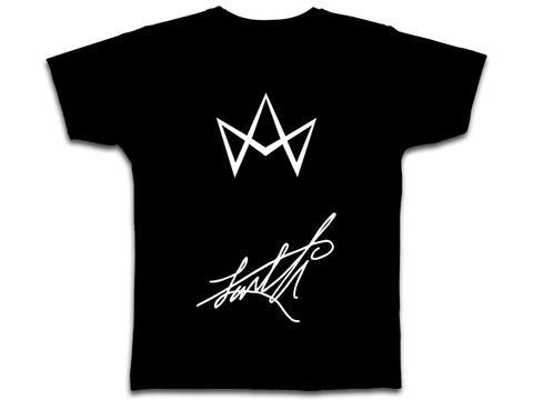 LUVELLI w/ Society Infinity Crown and Signature T-SHIRT