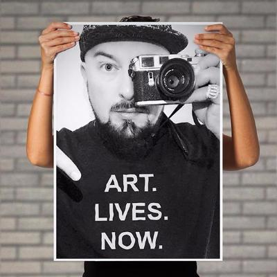 LUVELLI Art Lives Now Poster