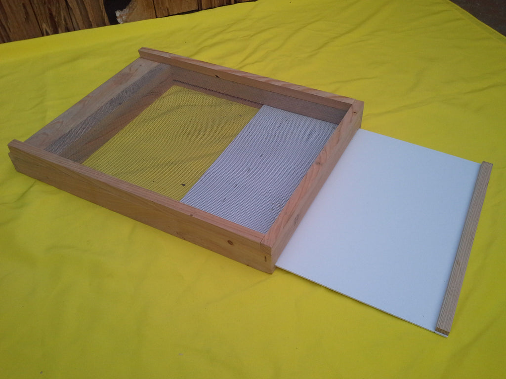 Cypress Screen Bottom 8 Frame Hives And More