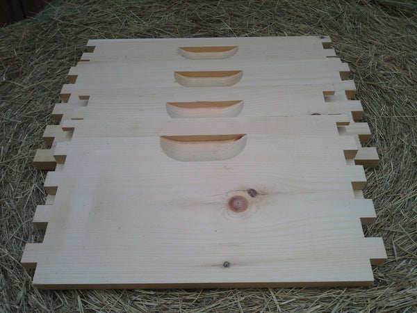 Pine Hive Body (brooder), 8 Frame, Box Jointed