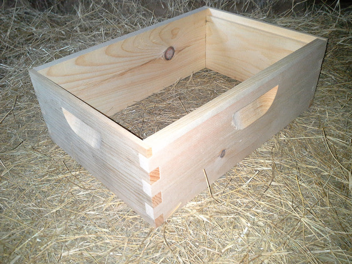 Cypress Honey Super, 10 Frame, Box Jointed – HIVES AND MORE