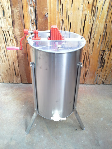 2 Frame Honey Extractor, Stainless Steel, Manual