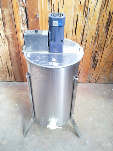2 Frame Honey Extractor, Stainless Steel, Electric