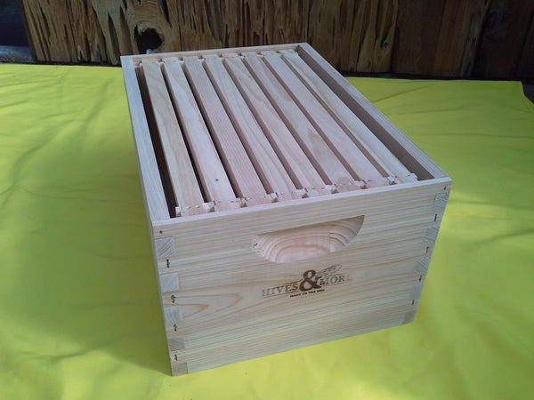 Cypress Hive Body Brooder 8 Frame Box Jointed Hives