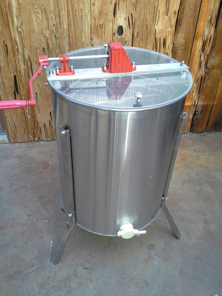 4 Frame Honey Extractor, Stainless Steel, Manual
