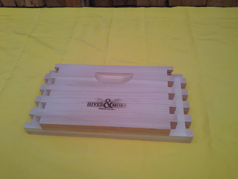 Pine Hive Body (brooder), 10 Frame, Box Jointed