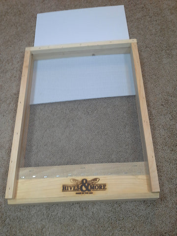 10 Frame Pine Screen Bottom Unpainted