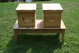 Double Hive Stand Cypress, 8 frame