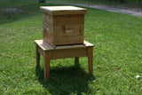 Single Hive Stand Cypress, 8 frame