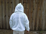 Monogramed Ventilated Fencing Style Jacket