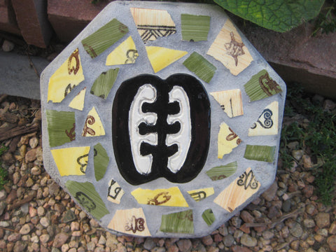 Adinkra Friendship Concrete Paver