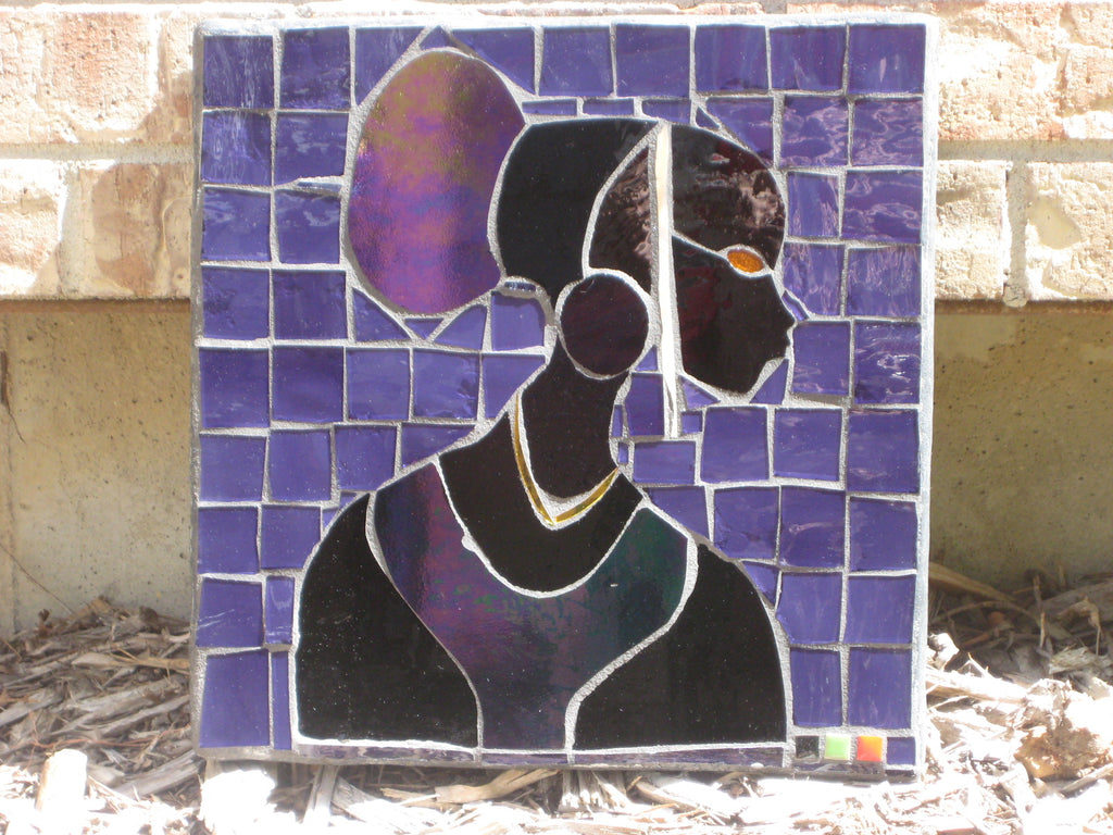 Mosaic Outdoor Purple Translucent Princess