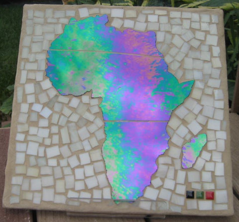 Africa Landscape Patio Tile Iridescent