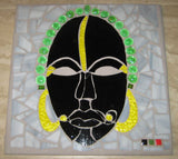 Ethnic Male Mask Landscape Tile