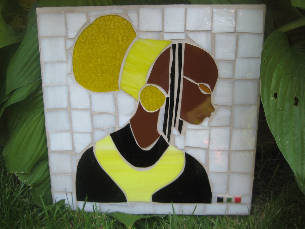 Mosaic Princess with Yellow