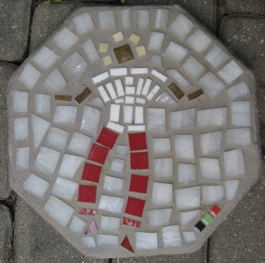 Octagon Paving Stone - Sistah Gurl with Red Pants