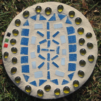 Adinkra Welcome Concrete Outdoor Paver
