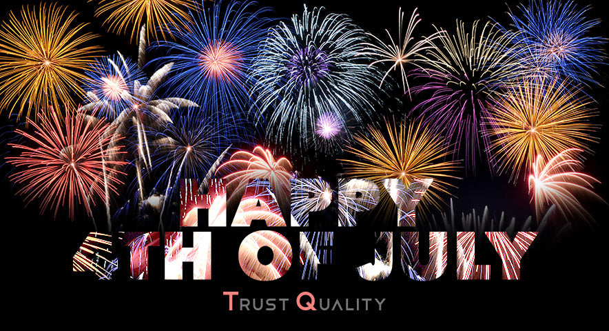 Happy 4th of July everyone! We hope you all have a fun, safe celebration.