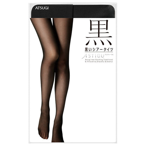 "Astigu ""Kuro"" Stocking: Sheer Black"