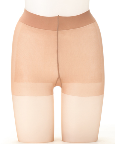 Astigu Stocking: Beige / Sheer Beige / Dark Beige