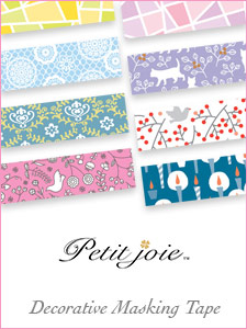 Petit Joie Decorative Masking Tape by Nichiban