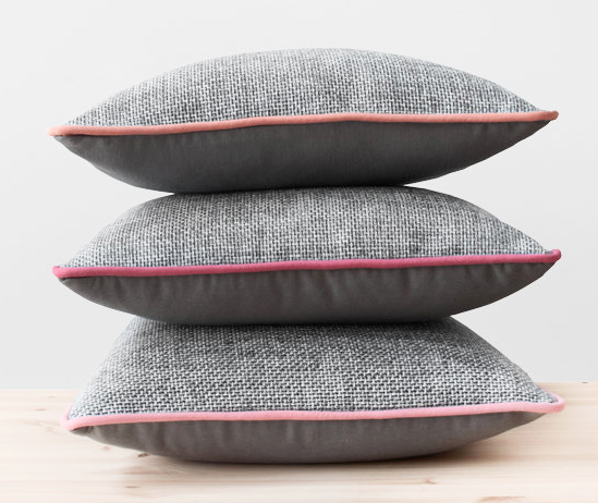 Piped Pillows.