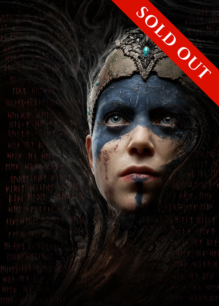 SOLD OUT - Hellblade Portrait Limited Edition Print