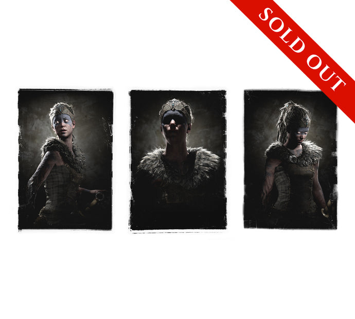 SOLD OUT - Hellblade Senua Triptych Limited Edition Print