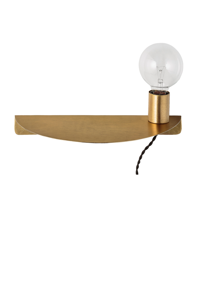 WALL Wandlampe gold