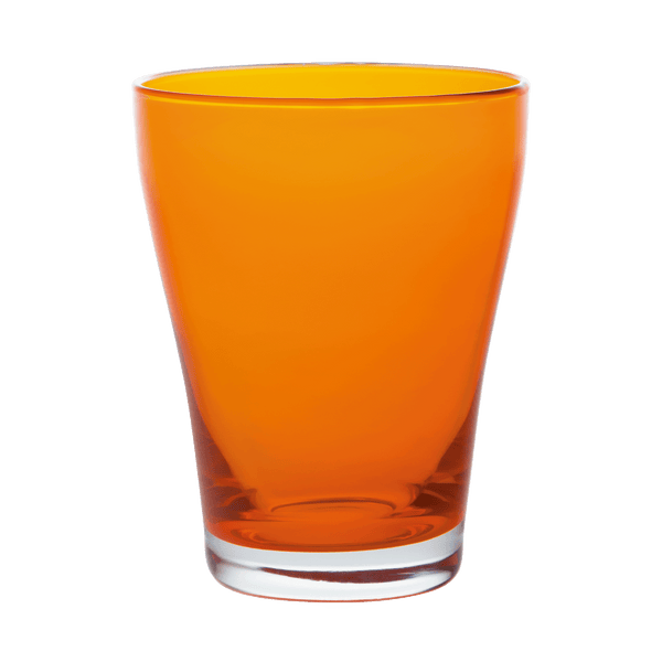 COLOR Wasserglas, orange