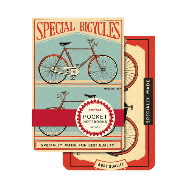 POCKET NOTEBOOK Bikes 2er set