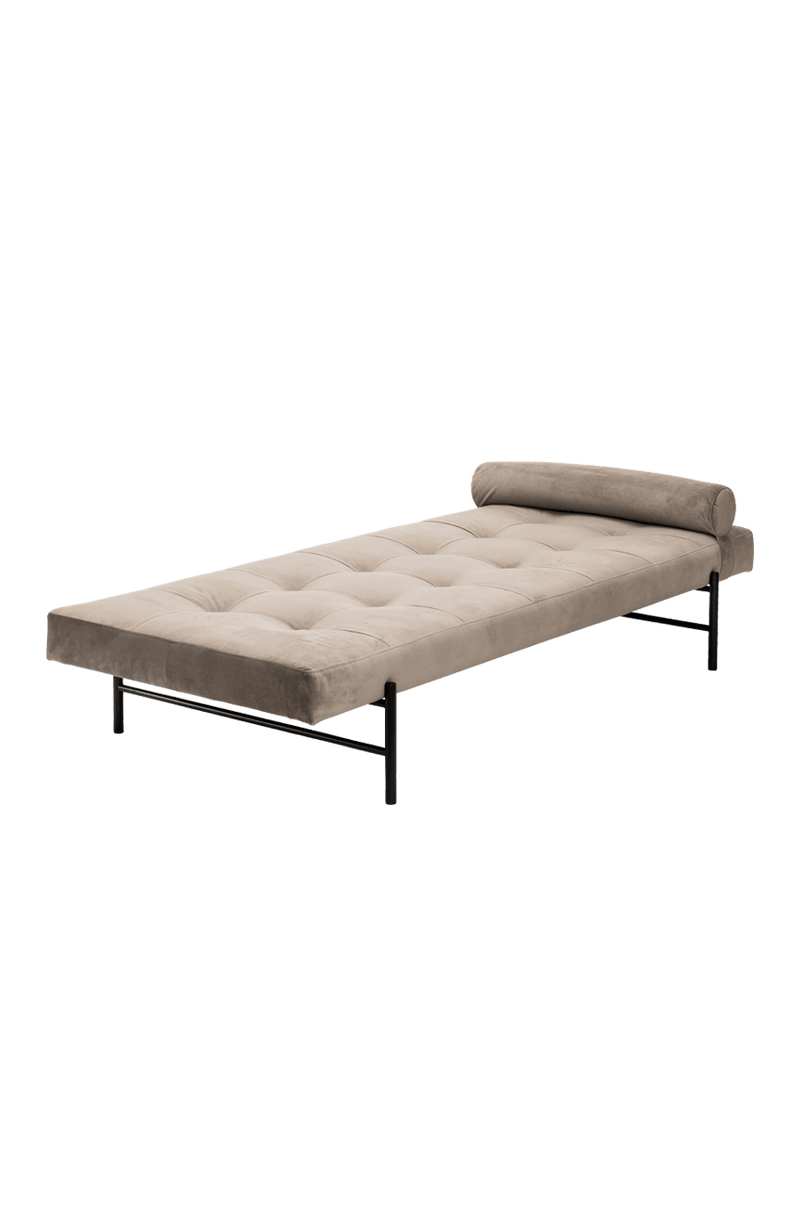 VALENTINA Daybed grau / Metall