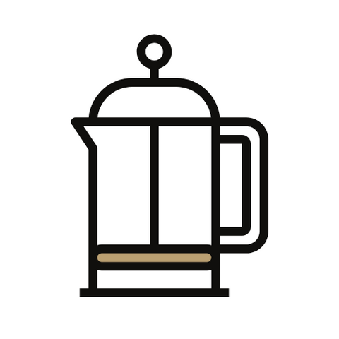 Icon of a french press