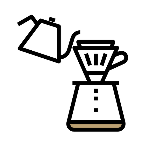 Icon of a pour over