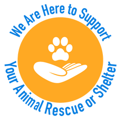 We are here to support your animal shelter or rescue organization