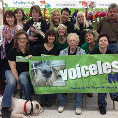 Voiceless-MI volunteers
