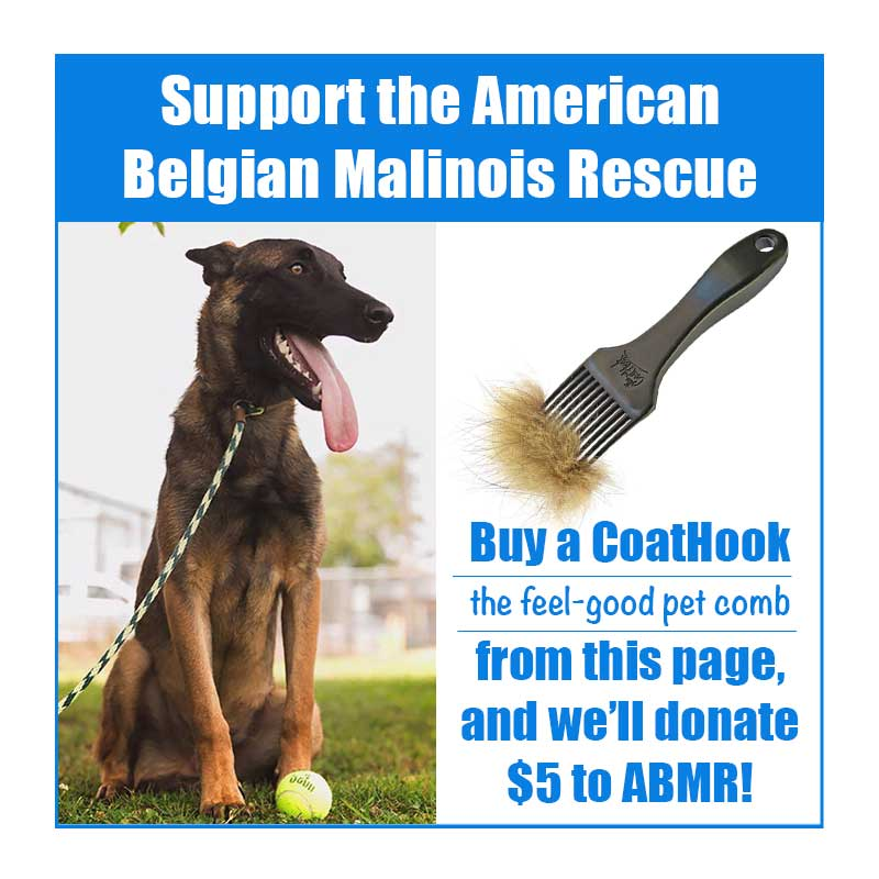 A CoatHook to Benefit <br />American Belgian Malinois Rescue<p></p>