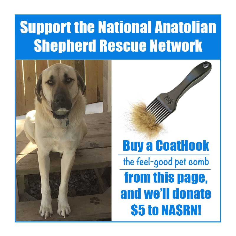 A CoatHook to Benefit <br />National Anatolian Shepherd Rescue Network