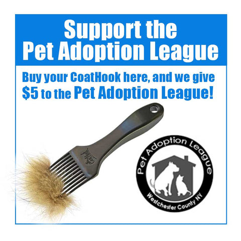 A CoatHook to Benefit <br />Pet Adoption League of Westchester County New York