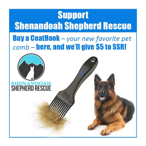 A CoatHook to Benefit <br />Shenandoah Shepherd Rescue