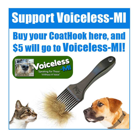A CoatHook to Benefit <br />Voiceless-MI