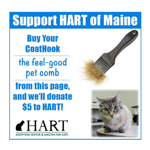 A CoatHook to Benefit HART of Maine <br /> <br />