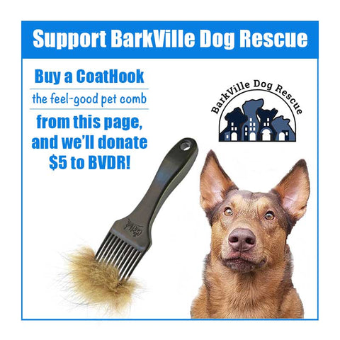 A CoatHook to Benefit <br />BarkVille Dog Rescue