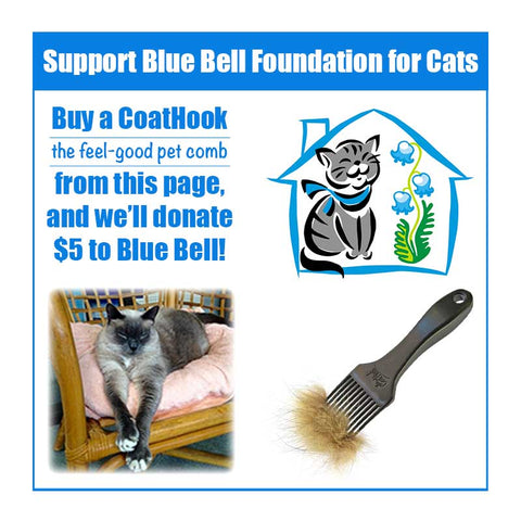 A CoatHook to Benefit Blue Bell Foundation for Cats<br /><br />