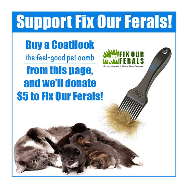 A CoatHook to Benefit <br />Fix Our Ferals