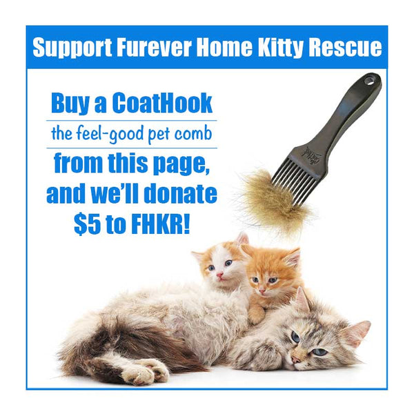 A CoatHook to Benefit <br />Furever Home Kitty Rescue